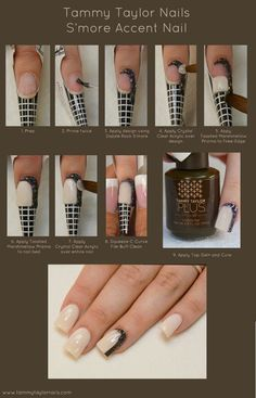 Tammy Taylor Nails S'more Accent Nail