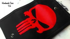 Punisher. Marvel Comic.Tobacco Case Synthetic Leather https://www.facebook.com/Vassoartistiko