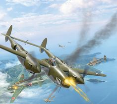 Lockheed P-38 Lighting ~ BFD