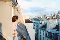 """ROOST BLOG on PARIS: """"She greets you with her warm, terra cotta smile and parisian blue eyes. Her cheeks flush rouge as her La Vie en Rose taunts you and local lovers alike, causing the most modest of dispositions to engage in a little joie de vivre..."""""""
