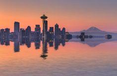 High Tide In Seattle by rogerRog, via Flickr