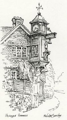 Abinger Hammer Malcolm Surridge Clock