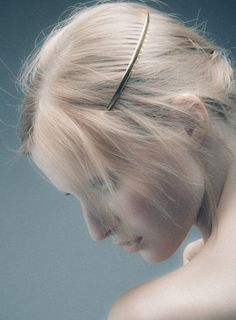 PLUIE - PLUIE CRESCENT Barretta プリュイ クレセント(三日月)コーム - hair jewelry | Couture Hair Accessories