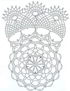 crochet doily patterns with diagram automotive cooling fan relay wiring 132 best images thread yarns free pattern mandala art stitches