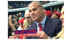 """By Andreas Hale The number of celebrities who support Donald Trump continues to grow as UFC Hall of Famer and current Bellator fighter Tito Ortiz has now publicly endorsed the presumptive GOP presidential nominee. The 41-year-old was spotted in attendance at a Trump rally in Anaheim, Calif., this week. His appearance caused a stir as Ortiz was pictured holding a sign that said, """"Hillary Clinton Killed My Friends,"""" and later joined in a """"build that wall"""" chant. Ortiz, whose father is from…"""