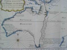captain cook's map of australia where he landed with his crew during their first expedition in 1770 Early Explorers, Explorers Unit, Captain James Cook, First Fleet, Penal Colony, Terra Australis, Aboriginal History, Australia Map, History Images
