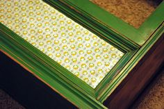 How to Mod Podge fabric to furniture