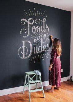 visualgraphc: Foods before dudes by Lauren Hom