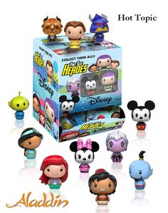 Disney Pint Size Heroes Mini-Figure Display Case:Create your very own Disney world! From Disney and Pixar's greatest films comes a set of Pint Sized Heroes. King Louie Jungle Book, Vinyl Figures, Action Figures, Funko Figures, Pop Figures, Pop Disney, Tsumtsum, Goodies, Disney Figurines