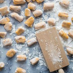 Sweet Potato Gnocchi - serve with pasta sauce for an easy dinner.