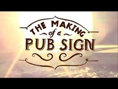 The Process: How to Create a Hand Carved Wooden Sign from Scratch