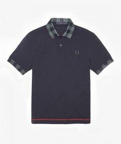 Fred's Threads - Tartan Collar Print Shirt