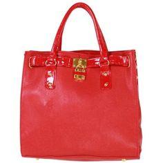 Ladies Totes Shoulder Bag Hobo Handbag - Red £14.95