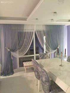 Nükhet hanımın her odası ayrı zevkli, stil sahibi evi. Rideaux Design, Living Room Decor, Bedroom Decor, Home Curtains, Curtain Designs, Home Decor Accessories, Sweet Home, Interior Design, San Francisco