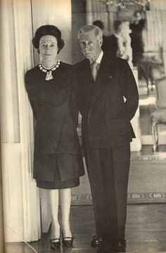 Duke and Duchess of Windsor from the November 1966 Harper's Bazaar.