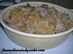 Pork Roast and Sauerkraut