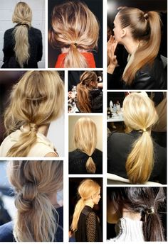 ponytail beauty
