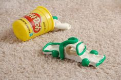 When children and Play-Doh co-exist in a carpeted room, some of the doughy substance is bound to find its way into the carpeting. You may be able to remove some of the dough...