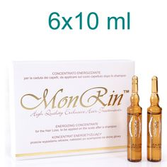 MonRin Energizing Concentrate for The Hair Loss 6 x Hair Loss, Shampoo, Place Cards, How To Apply, Place Card Holders, Bright, Ebay