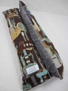 Seat Belt Pillow with pocket  DESIGN YOUR by littlefingersgifts, $27.00