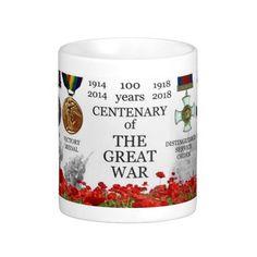 Tasse classique: Le Grand Centenaire de Guerre/Centenary of the Great War