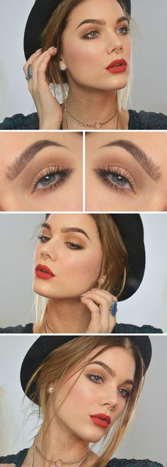 Linda Hallberg everyday makeup get the look using Arbonne Guava Smoothed Over Lipstick (Simple Beauty Tips) Pretty Makeup, Love Makeup, Makeup Tips, Makeup Looks, Makeup Ideas, Makeup Style, Make Up Inspiration, Make Up Braut, Linda Hallberg