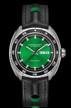 TimeZone : Industry News » N E W  M o d e l - Hamilton Pan Europ Automatic