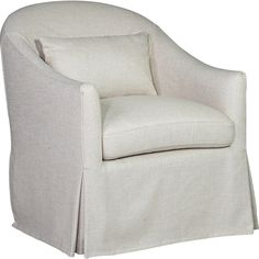 You'll ❤ The Spectra Becky Swivel Glider Accent Chair Twill Linen Slip Cover Swivel Glider Chair, Coastal Living Rooms, Cushions, Pillows, Gliders, Tub Chair, Slipcovers, Home Furnishings, Accent Chairs