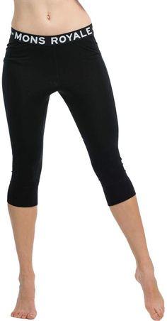 83be449a1c571 Mons Royale Alagna 3/4 Leggings - Women's Basic Leggings, Capri Leggings,  Women's