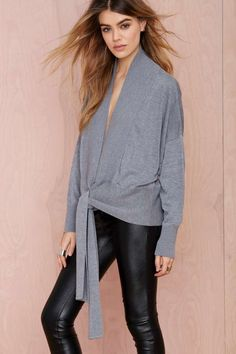 Nasty Gal Tangled Up Cardigan - Cardigans | Tops
