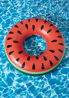 I'm Melon the Truth Pool Float - Multi, Red, Print, Quirky, Food, Summer, Good, Green, Beach/Resort, Fruits