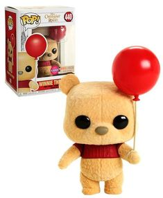 Disney Christopher Robin Winnie The Pooh (Flocked) - BoxLunch Exclusive Import - New, Mint Condition - Funko Pop Funko Rare, Best Funko Pop, Figurine Disney, Pop Figurine, Maquillage Harry Potter, Disney Christopher Robin, Pop Disney, Funko Pop Dolls, Funk Pop