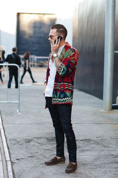 Men's fashion - wow, I would never think about wearing something like this but...