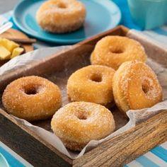 Donas Caseras de Azúcar Donut Muffins, Donuts, Wok, Dessert Bread, Sin Gluten, Baked Goods, Cupcake Cakes, Cup Cakes, Cake Recipes