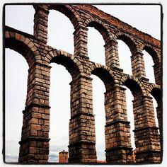 Aqueduct in #Segovia #Spain