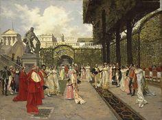 Napoléon et le Roi de Rome à Saint Cloud