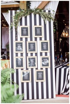 Image result for wedding black and white stripe