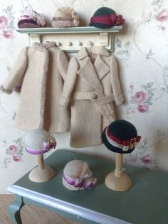 vintage coats and hats  www.pilarcalle.es