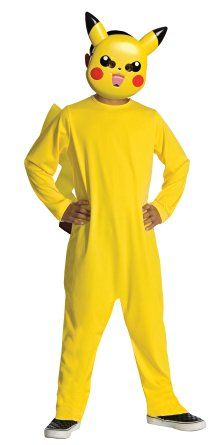 214f59053cf Boys Pokemon Pikachu Costume - Party City Pikachu Costume Kids