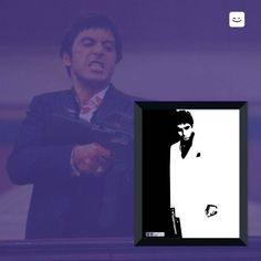 Say hello to my little friend!  Você gosta do Scarface?  Acesse: http://bit.ly/scarhip  #posters #molduras #quadros #decoracao #hipprint #hipprintposters #scarface #filmes #movies