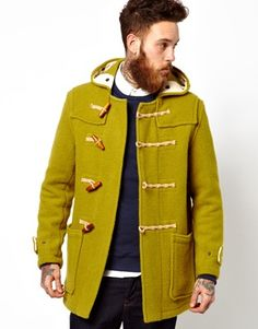 duffle coat, mensfashion | Clothing for Him | Pinterest | Coats ...