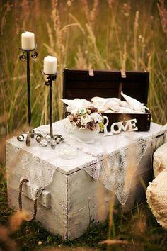 Ručne robené svadobné dekorácie