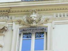 Lyon :Immeuble de l'avenue de Grande-Bretagne : détail