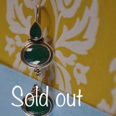Beautiful selection of emerald earrings in my shop!  Under $40.00 by Chocolatepepper