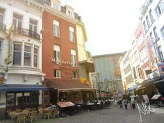 Antwerpen the TramCity ... International food street