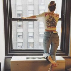 Camiseta prestada + #myredones + #nyc ❤️                                                                                                                                                                                 More