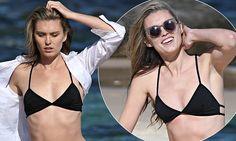 Miss Universe Australia runner-up strips down to skimpy bikini Bikini Bodies, Fashion News, Bikinis, Swimwear, Competition, Celebrity Style, Universe, Australia, Celebs