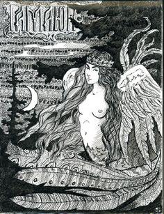 Gamayun by VoodooMouse on deviantART