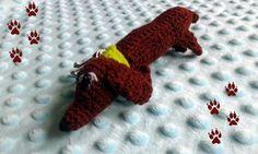 Mr Sausage  the dachshund keyring by DoGATAilla on Etsy