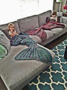 Hi Mermaid Blanket beauty fish Pattern Crochet Mermaid Tail,Knitted Mermaid Tail Blanket great design gift for children and wife Knitting Projects, Crochet Projects, Knitting Patterns, Crochet Patterns, Blanket Patterns, Craft Projects, Knitting Tutorials, Loom Knitting, Manta Crochet